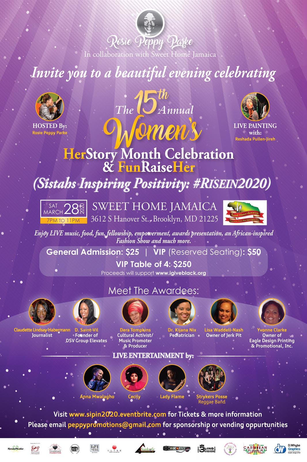 15th Annual Women's HerStory Month Celebration & FunRaiseHer